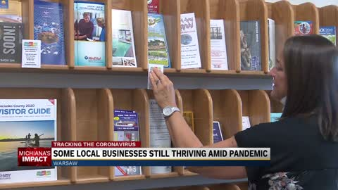 Some Kosciusko County businesses still thriving amid pandemic